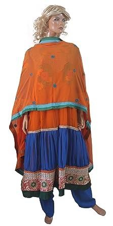 7f7c4ee8853 Amazon.com  Apparelsonline Indian Plus Size 48 Anarkali Churidar Salwar  Kameez (48)  Clothing