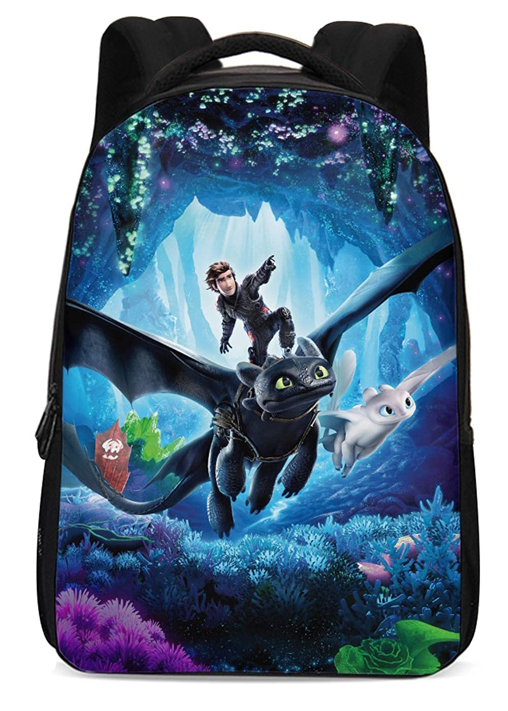 How to Train Your Dragon Backpack Hiccup Bags Night Fury Toothless Schoolbags for Men Boys Girls