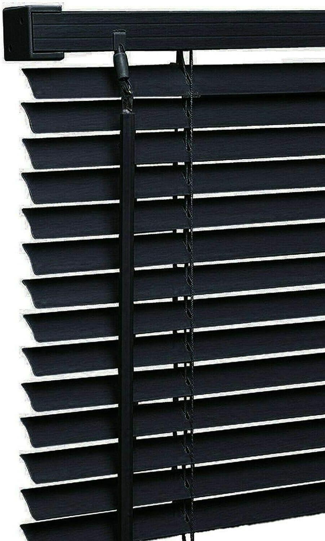 STL White PVC Venetian Blind Easy Fit Window Blinds 45 x 150 cm