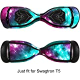 GameXcel Skin for Self-Balancing Electric Scooter - Sticker for Skate Hover Board - Decal for Self Balance Mobility Longboard - Smart Protective Cover Vinyl Case for 2 Wheel Scoote BoardFit for T5