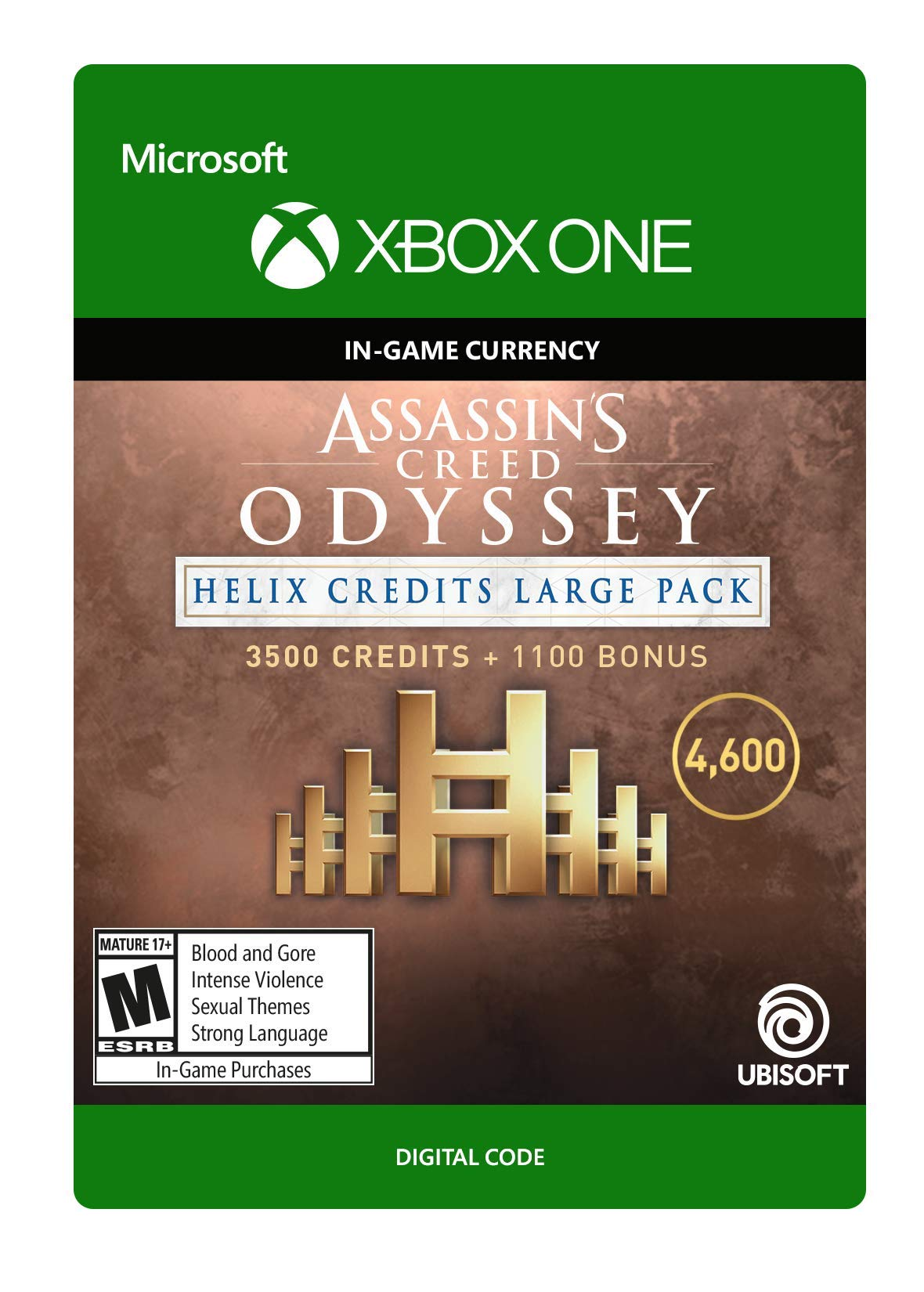 Assassin's Creed Odyssey: Helix Credits Large Pack Xbox One [Digital Code] by Ubisoft