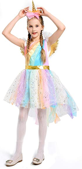 0a77faa5d563a Unicorn Costumes for Girls Unicorn Tutu Dress Up Clothes for Little Girls