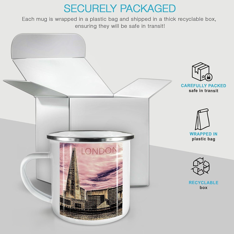New York America NEW Enamel Tea Mug 10 ozWellcoda