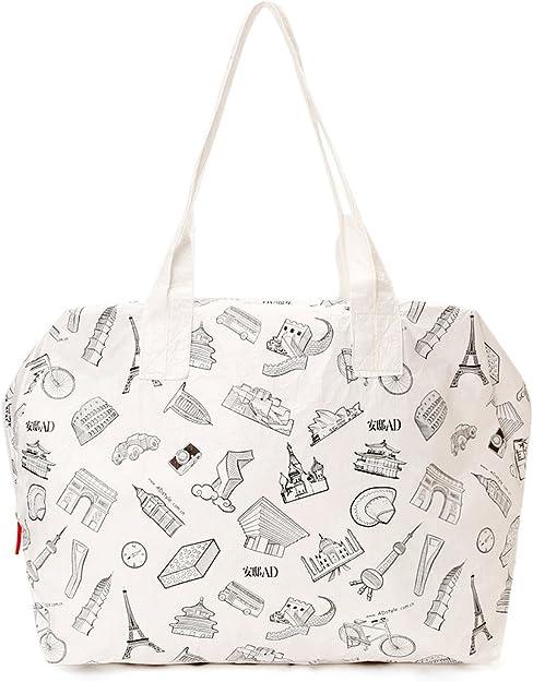 Big Tyvek\u00ae waterproof shopper bag