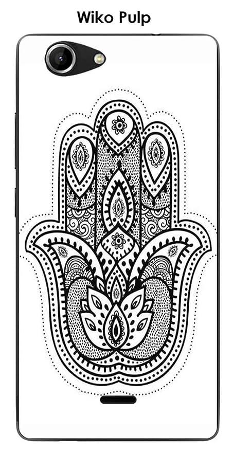 Onozo Carcasa Wiko Pulp Design Mandala mano: Amazon.es ...