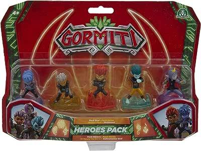 Gormiti Serie2 Pack de los Heroes, Personajes Principales de la Serie, Multicolor, 5 cm (Famosa GRE06000): Amazon.es: Juguetes y juegos