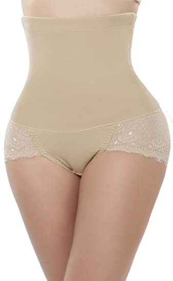 e309ae95ee Comfortable Tummy Trimmer Booty Enhancer Hi-Waist Butt Lifter Slim Waist  Trainer at Amazon Women s Clothing store