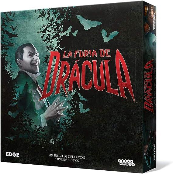 Edge Entertainment-La Furia de Drácula-Español, Color (EEHWFD01): Amazon.es: Juguetes y juegos