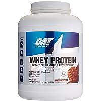 German American Technology Mezcla de Proteínas y Aminoácidos Whey Protein, Chocolate, 5 lb