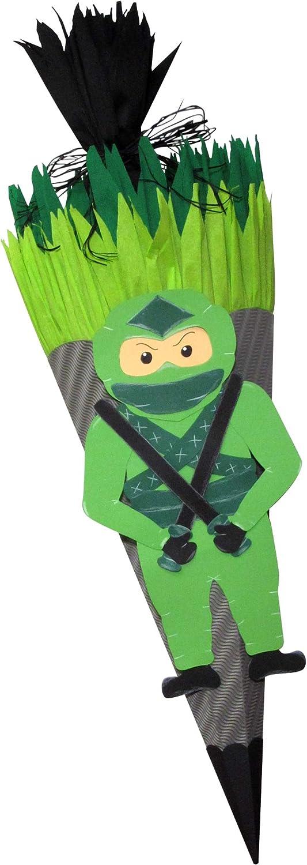 Bastelset Schultüte Drache und Ninja Zuckertüte