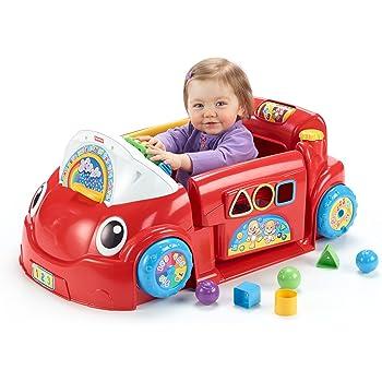 Amazon Com Fisher Price Laugh And Learn Crawl Around Car