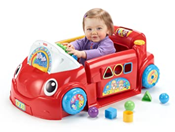Used Toys For Toddlers : Amazon.com: fisher price laugh and learn crawl around car: toys & games