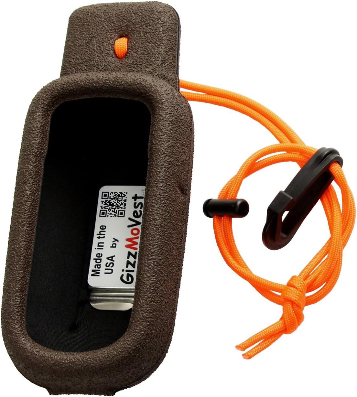 Garmin Alpha 100 Orange GizzMoVest Field Case Extremely Tough