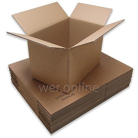 Caja de cartón doble para mudanza, 20 unidades, tamaño ...