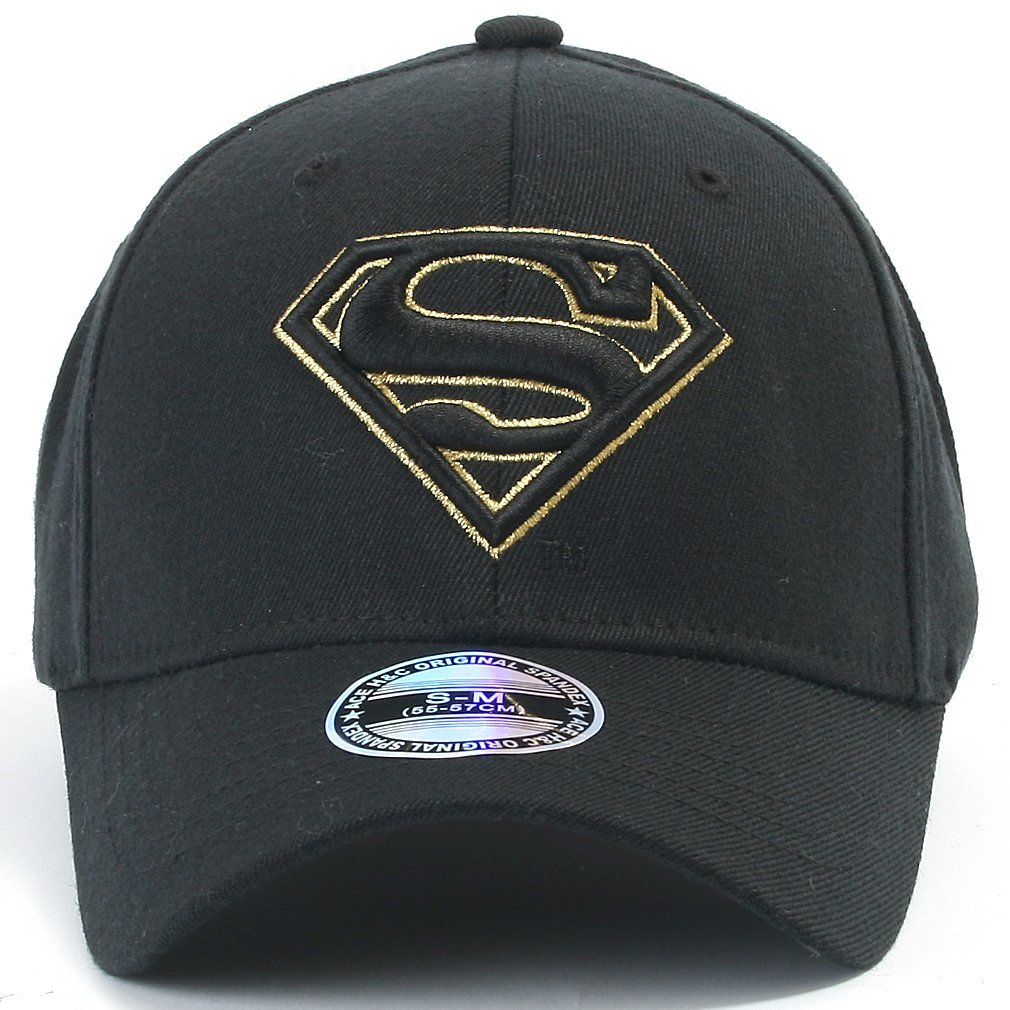 268340efa91 Galleon - Ililily Superman Baseball Cap With Superman Shield Embroidery  Fitted Trucker Hat (ballcap-602-5-M)