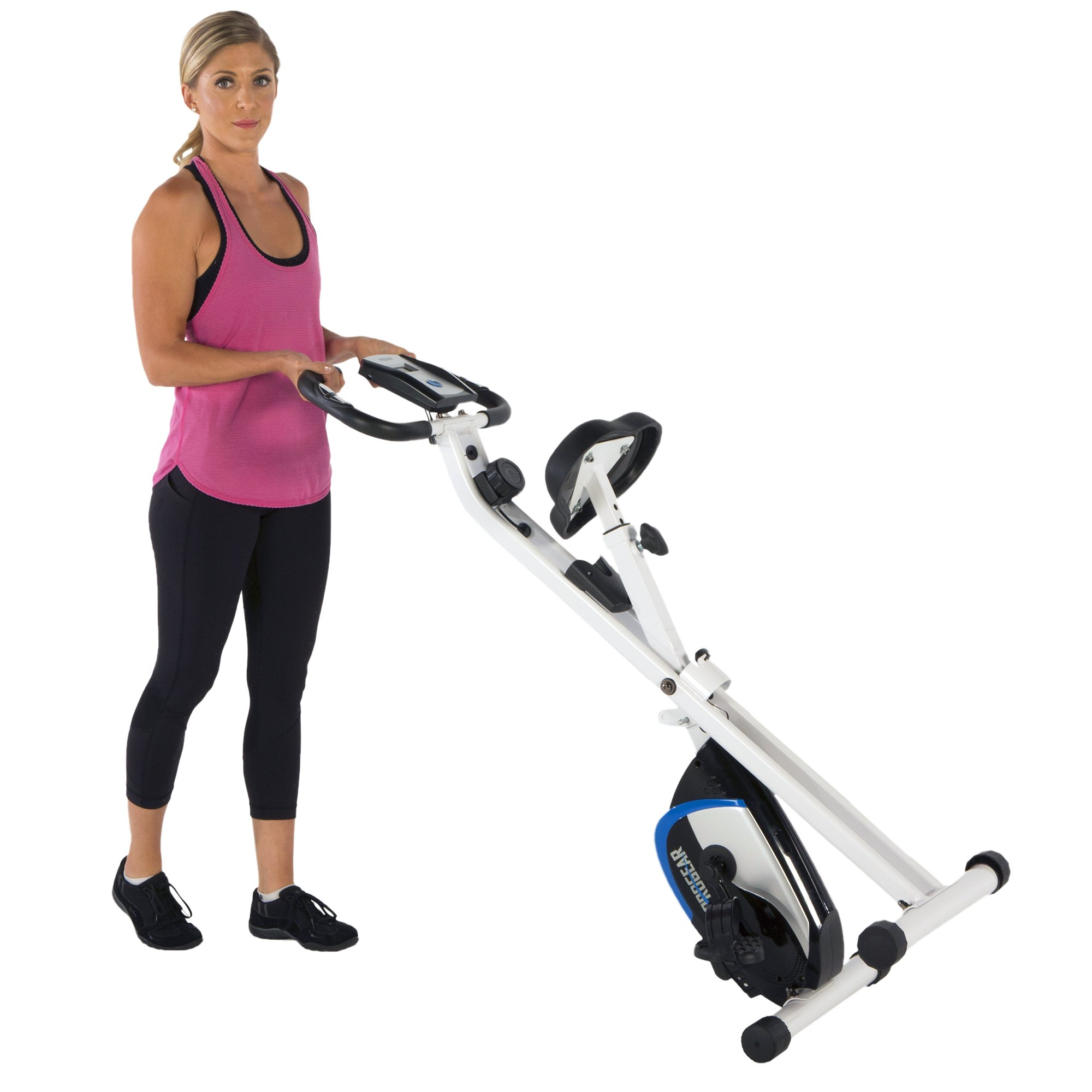ProGear 225 Folding Magnetic Upright Exercise Bike with Heart Pulse by ProGear (Image #6)