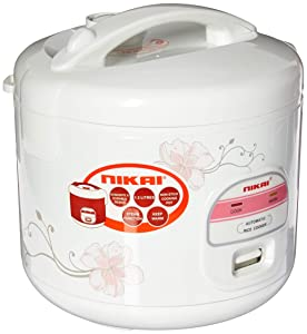 Nikai NR679N 1.2L Rice Cooker with Steamer for 220/240V 50Hz ( will not work in USA)