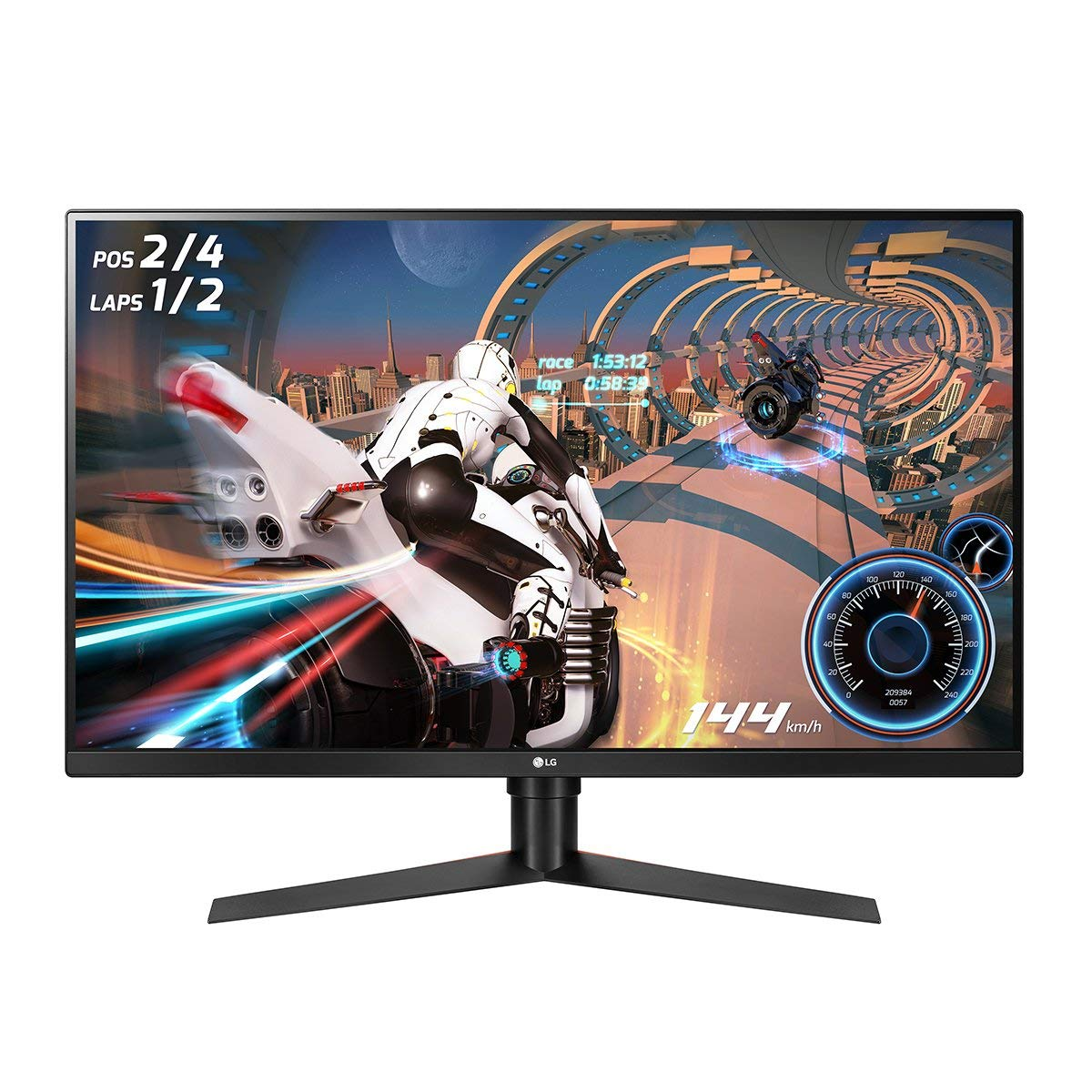 LG 32GK650F-B 32 QHD Gaming Monitor with 144Hz Refresh Rate and Radeon FreeSync Technology Renewed
