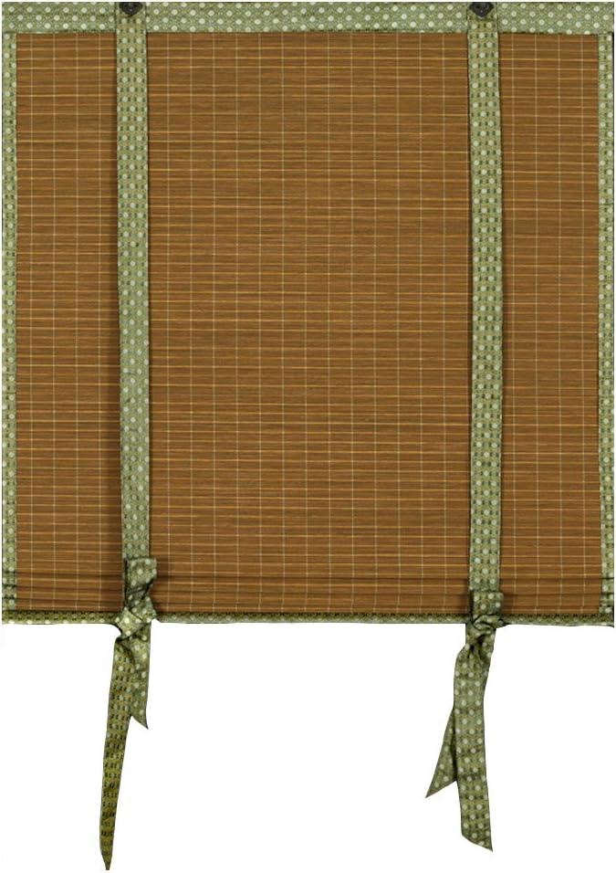 ZEMIN Bambú Persiana Enrollable Ventana Instalar Interior/Exterior ...
