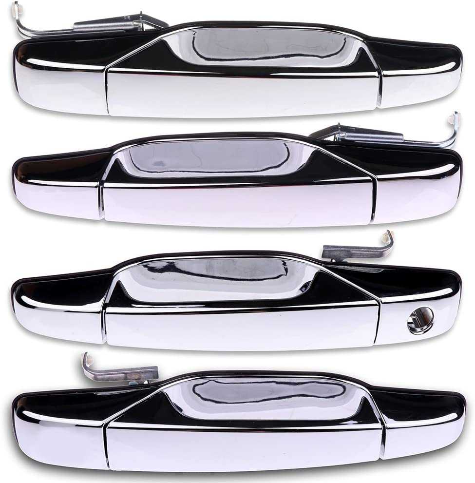 Replace # 84053448 22738725 15915659 25960521 Rear Left Driver Side Rear Exterior Door Handle Outside Door Handle Fit For Cadillac Chevy GMC