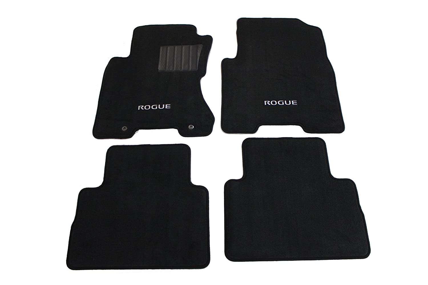 Rubber floor mats nissan rogue - Amazon Com Genuine Nissan Accessories 999e2 Gx000 Black Carpeted Floor Mat Set Of 4 Automotive