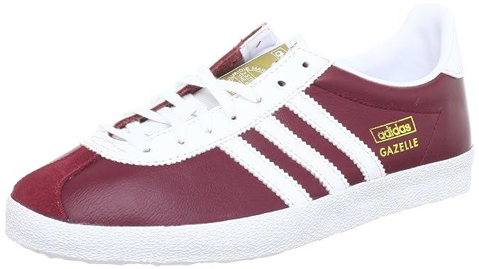 sports shoes a1a44 ec2c4 adidas Originals Mens Gazelle OG Q23179 Sneaker Red Size UK 12.5  Amazon.co.uk Shoes  Bags