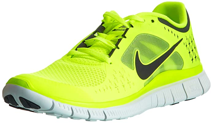 9f5aa86185fa ... sweden amazon nike mens free run 3 running shoe volt pure platinum  reflect silver 6.5 d