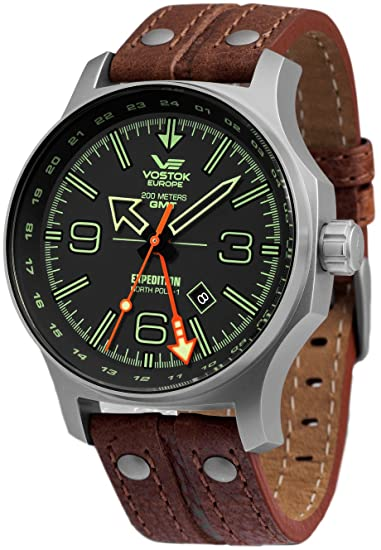 Vostok Europe Expedition North Pole relojes hombre 515.24H-595A501: Amazon.es: Relojes