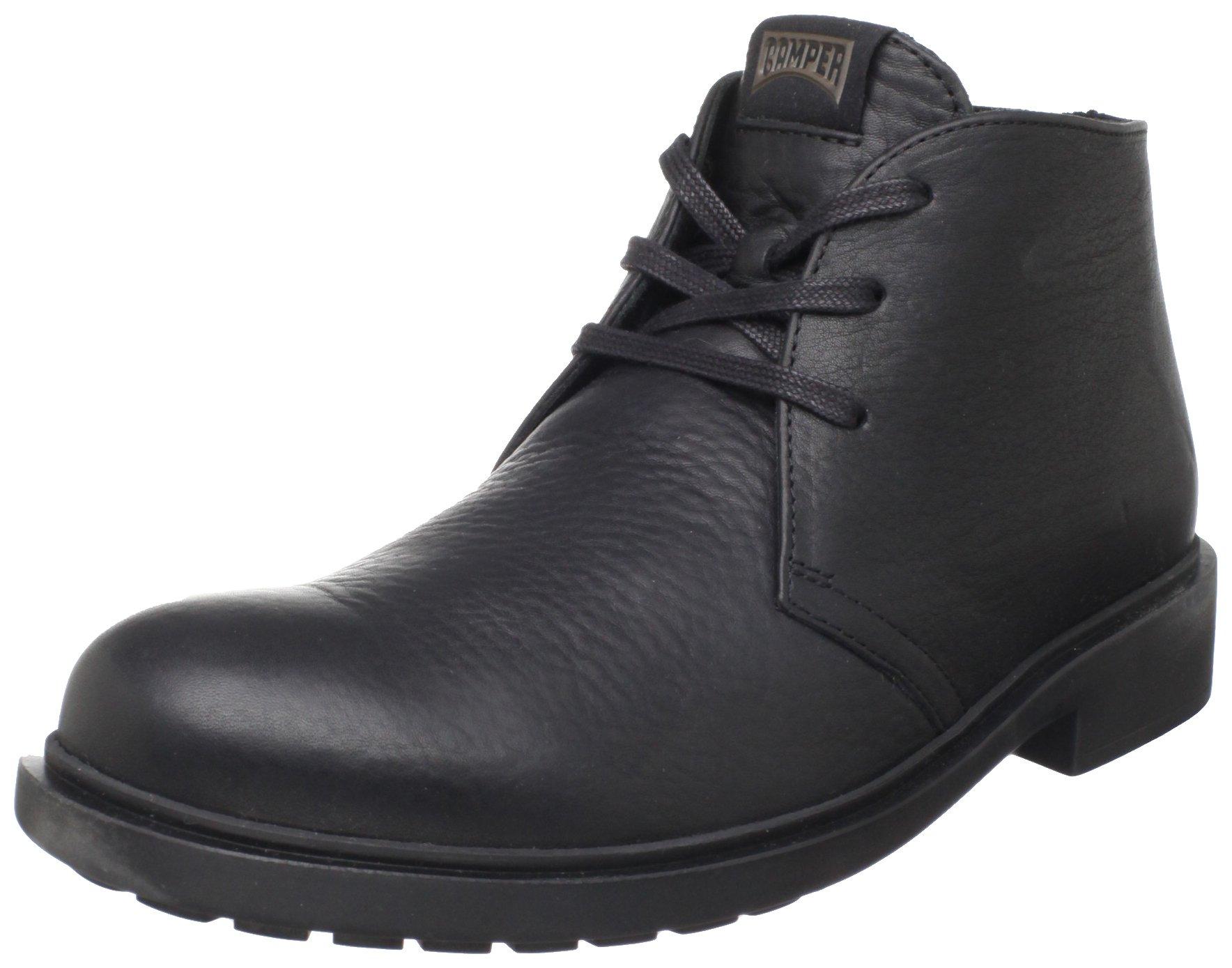 Camper Men's 36426-012 Lace-Up Boot, Negro,46 EU/13 M US
