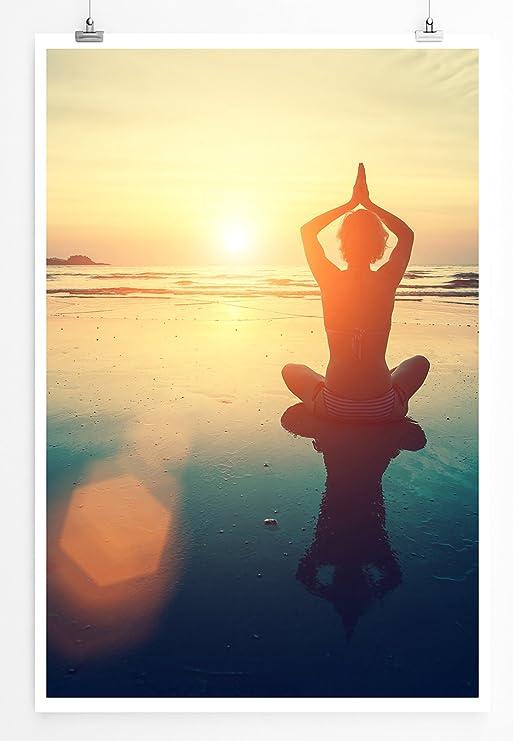 Eau Zone Home - Fotografía de Yoga en la Playa, Cuadro de ...
