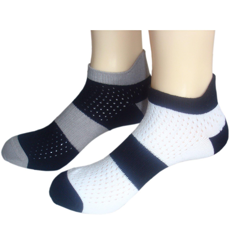 JHosiery Hombre ventilados calcetines deportivos con costuras ...