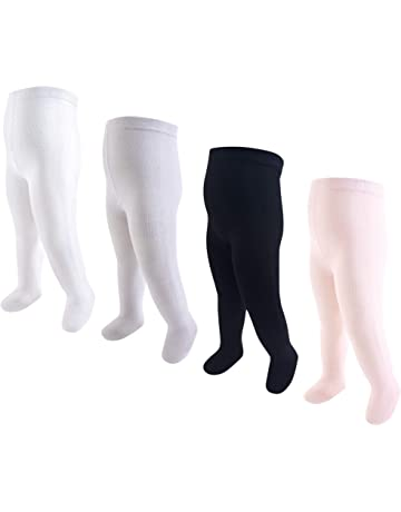 d7b92a8e405a5 Hudson Baby Baby Girls' Cotton Tights, ...