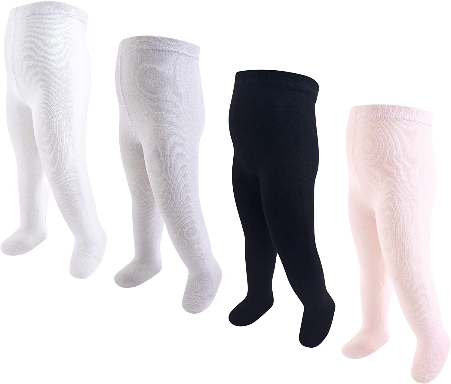 Hudson Baby Toddler and Baby Girl Cotton Tights