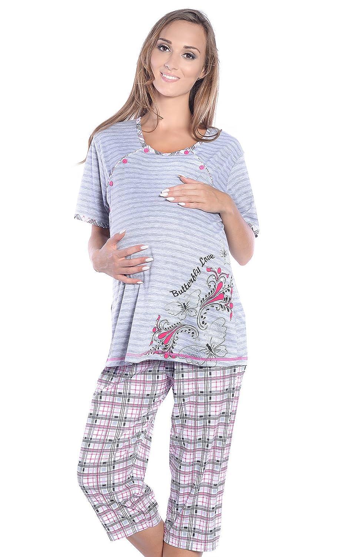 Mija Arts - Ensemble de pyjama spécial grossesse - Femme
