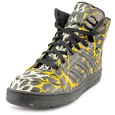 24304541a8b3 adidas Originals Jeremy Scott Js Instinct High Leopard - Black Leopard  Print New (5