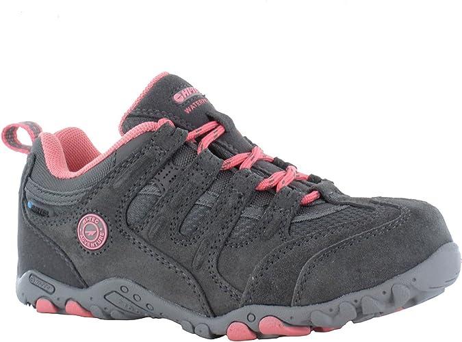 Hi-Tec Quadra Classic Junior Zapatilla De Trekking: Amazon.es: Zapatos y complementos