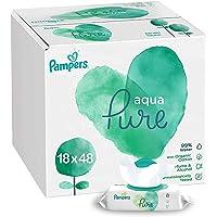 Pampers Aqua Pure, 864 Wet Wipes