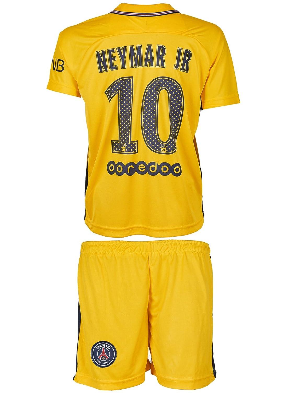 SVB PSG Paris Saint-Germain 2017/18 Heim und Auswärts # 10 Neymar – Kinder Trikot und Hose
