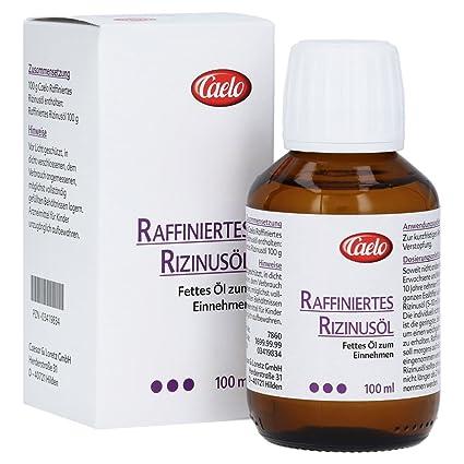 Aceite de ricino refinado, 100 ml
