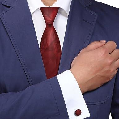 Y&G A1165 Idea oscuro rayas rojas precio regalo Mens adultos D¨ªa ...
