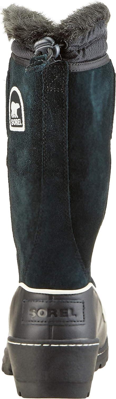 Sorel Femme Bottes, TORINO HIGH Noir Blanc Light Bisque