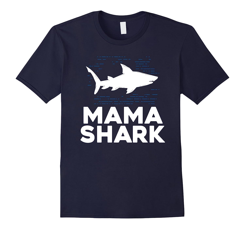 Mama Shark Best Mom T Shirt - Fun Shark Lover Summer Gift-Art