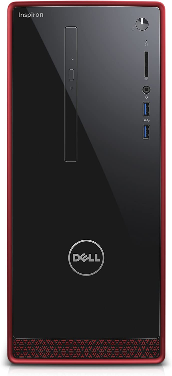 Dell Inspiron i3656-3355BLK Desktop (AMD A10, 8 GB RAM, 2 TB HDD) with AMD Radeon R9 360 2GB DDR5
