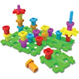The Learning Journey Techno Kids – Stack A Peg Super Set – STEM Toddler Toys & Gifts for Boys & Girls Ages 2+ Years…