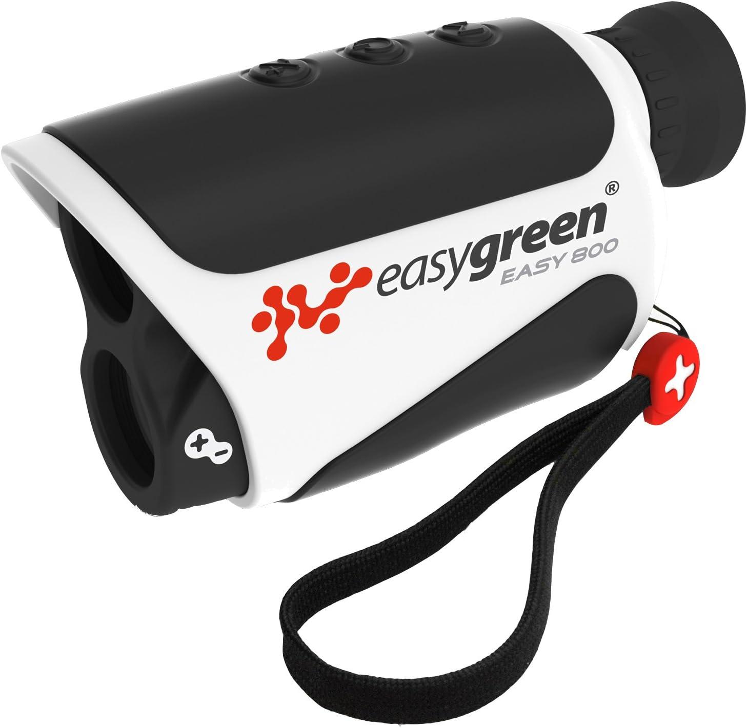 Easy Green - Telémetro láser (800 m), Color Blanco y Negro Negro Negro Talla:n/a