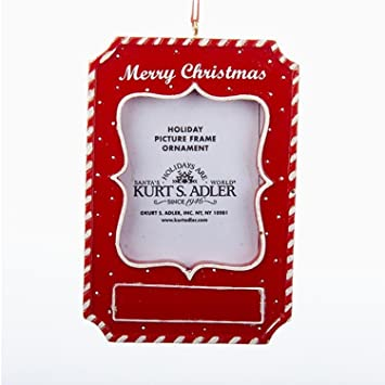 pack of 6 merry christmas picture photo frame christmas ornaments for personalization 4quot