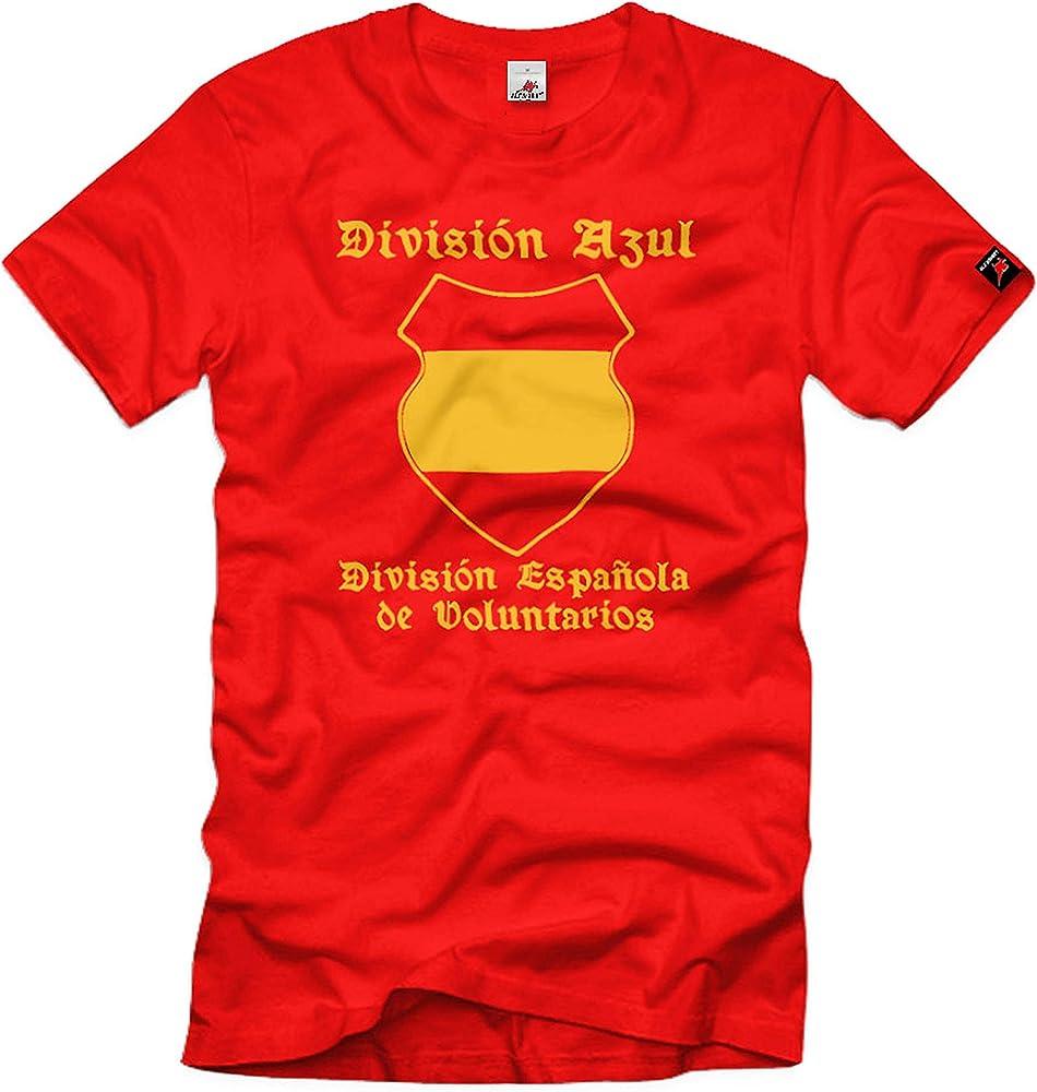 Divisón Azul Española de Voluntarios España 250 Infanterie-Division #84 rojo S: Amazon.es: Ropa y accesorios