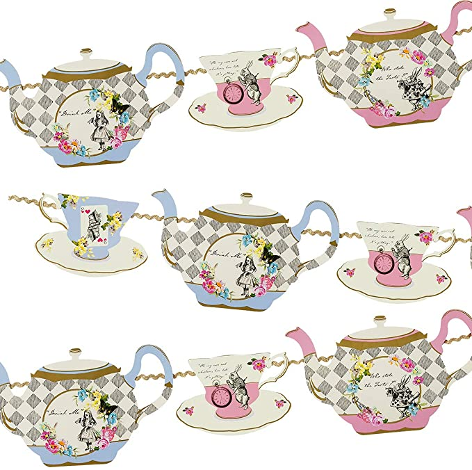 Mad Hatter Tea Party Decorations For Sale  from images-na.ssl-images-amazon.com