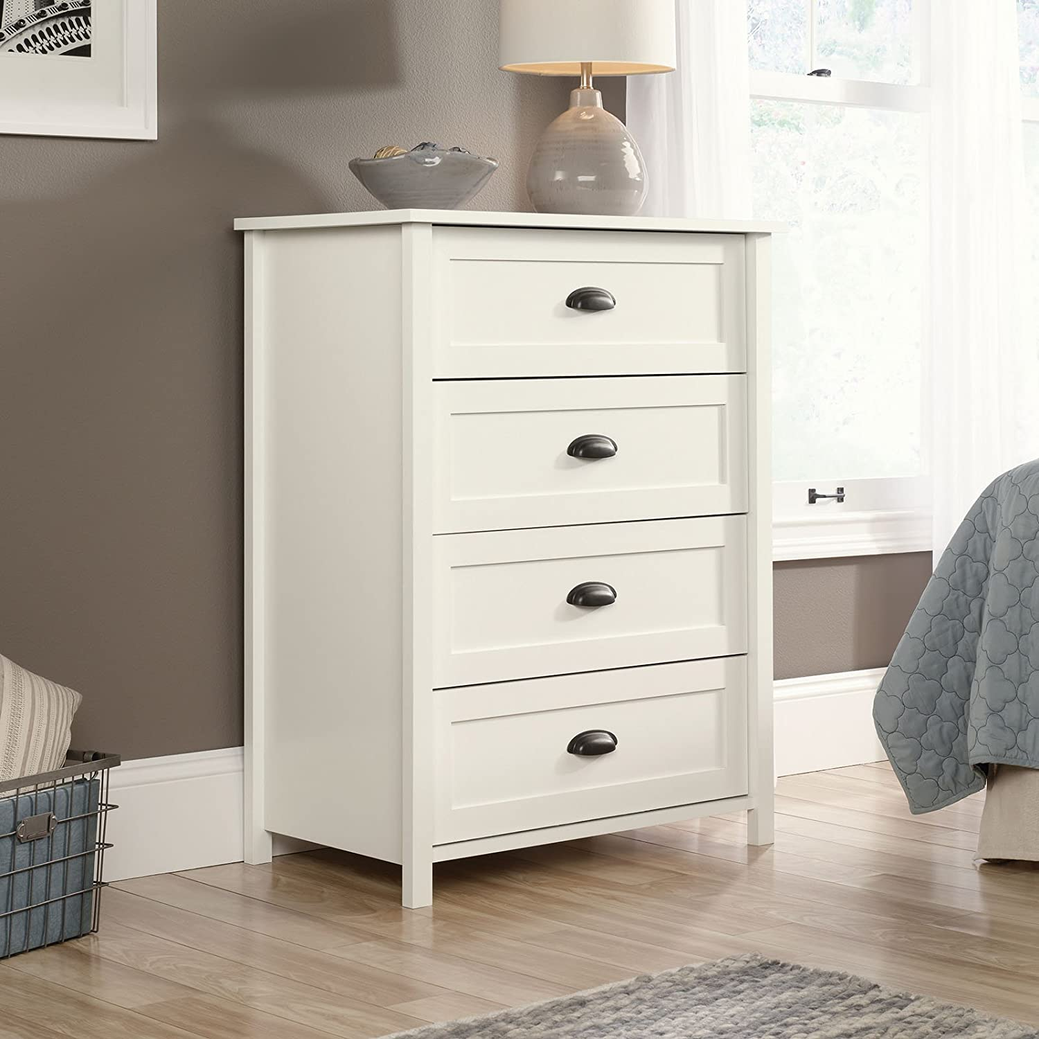 dressers chests drawer home viola p light dresser ameriwood gray brown the four