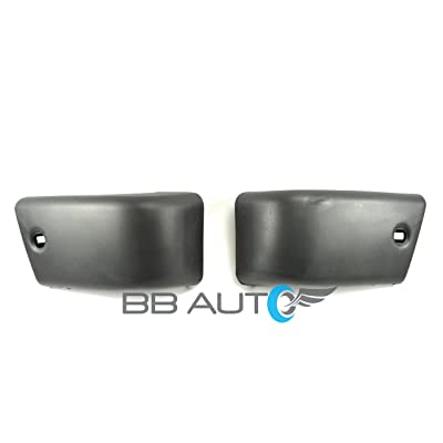 BB Auto New Front Bumper End Caps Set RH LH Replacement for 84-88 Toyota Pickup Truck 4WD 84-89 4Runner: Automotive